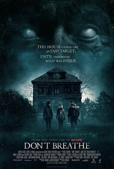 Official trailers, images and posters for the horror film DON'T BREATHE starring Jane Levy, Dylan Minnette, Daniel Zovatto and Stephen Lang. Best Horror Movies, Horror Films, Scary Movies, Hd Movies, Movies To Watch, Movies Online, Movie Tv, Suspense Movies, Ghost Movies