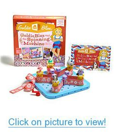 Intended to inspire the next generation of female engineers, GOLDIE BLOX AND THE SPINNING MACHINE is an interactive book + construction toy starring Goldie, a curious girl with a love of engineering. Top Gifts For Girls, Gifts For Kids, Toys R Us, Kids Toys, Engineering Toys For Girls, Spinning, Geek Toys, Top Toys, Thing 1