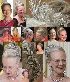 Queen Margarethe's diamond aigrette tiara-- one of my favorites!