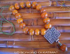 Necklace PE245 by Lo Scrigno di Katima - awesome!!!!