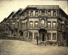 İstanbul, 1900 başları Saray Ressamı Fausto Zonaro'nun Beşiktaş Akaretler'deki evi