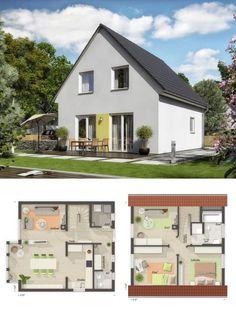 Einfamilienhaus Neubau Grundriss Klassisch Mit Satteldach Architektur U0026  Erker Anbau   Haus Bauen Ideen Massivhaus Raumwunder