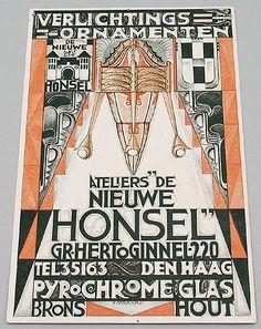 Henk Herens - Atelier De Nieuwe Honsel | Wendingen ~ Platform voor de Amsterdamse School