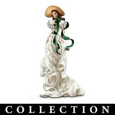 """Gone With The Wind"" Costume-Inspired Scarlett Figurines"