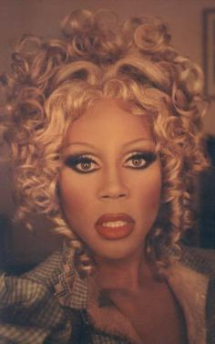 RuPaul; not a woman, but a fierce ladyboy who has inspired everyone to color with all the crayons in the box.