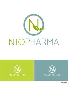 Medical Pharmaceutical Health Logo Wellness People Green Leaf ...