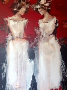 Mona Nahleh 120x160cm acrylic/canvas 2013