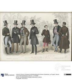 'Le Progrès: Men's and Boys Clothing' nr. 57, September 1854. Courtesy Anna Russ, Kunstbibliothek – Staatliche Museen zu Berlin CC-BY-NC-SA