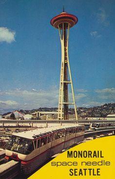 Space Needle, 1961-1962, Seattle, Washington, United States