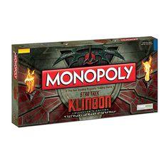 Toys & Games : Star Trek Klingon Monopoly - Exclusive