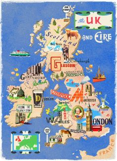 UK map - Anna Simmons