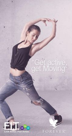 Dancing is a great way to get yourself moving! #IAmForeverFIT #ForeverLiving #F15 #Dance #move