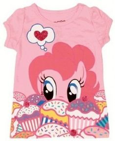 My Little Pony Pinkie Pie Cupcakes Toddler T-Shirt