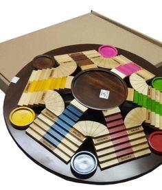 parques 3d seis puestos2 Wooden Board Games, Future Games, Chess, Wooden Toys, Plates, Interior Design, Cool Stuff, Children, Creative