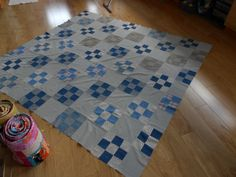 OS Quilt - minus torn pieces