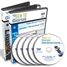 Adobe PHOTOSHOP CS5 & LIGHTROOM 3 video tutorial training course 38 hrs 5 DVDs