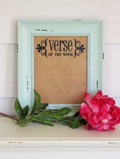 Verse of the Week Board DIY Vinyl Decal by SimpleFaithShop on Etsy