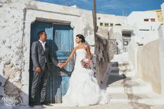 Wedding in Santorini| View the full gallery here:http://tietheknotsantorini.com/wedding-in-santorini-patricia-and-fernando