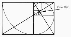 fine+lines+geometric+illustration+bird | Figure 2 - The logarithmic spiral fits within coiled golden rectangles ...