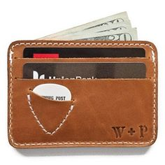 guitar pick wallet #INeedThis  Seriously I need this, a pic pocket on everything!