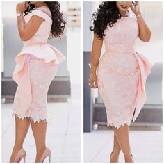 African Party Dresses, African Lace Dresses, Latest African Fashion Dresses, African Dresses For Women, Women's Fashion Dresses, African Women, Lace Styles For Wedding, Lace Dress Styles, Short Lace Dress