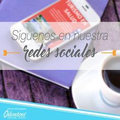 Facebook: Odontoss Clínica Odontológica. Twitter: @Odontoss1  Instagram: clinica_odontoss Pinterest: Odontoss Clínica YouTube: Clínicas Odontoss
