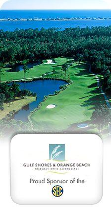 Golf Gulf Shores website