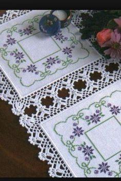 Crochet Neckwarmer - Learn How To Croch 319 - Diy Crafts - Marecipe Crochet Borders, Crochet Motif, Crochet Designs, Crochet Doilies, Crochet Flowers, Crochet Stitches, Filet Crochet, Diy Crafts Crochet, Crochet Home