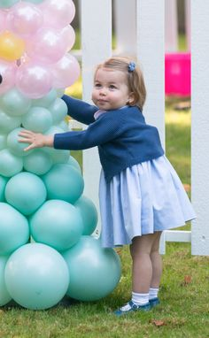 Princess Charlotte Wears Her Big Brother Prince George's Hand-Me-Downs