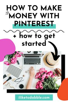 Learn the different ways you can make money with Pinterest and how to get started with a Pinterest related side hustle