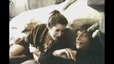"""Mark, Carrie and Harrison having fun on set of """"Return Of The Jedi"""""""