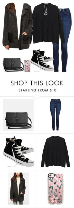 """""""Untitled #126"""" by findthefinerthings ❤ liked on Polyvore featuring Avenue, Topshop, Converse, Monki, Sparkle & Fade, Casetify and Elsa Peretti"""