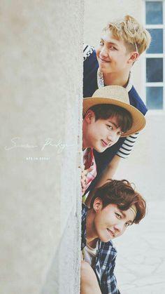 Bts RapMon,Jin y J-Hope