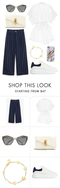 """""""#149"""" by minia001 ❤ liked on Polyvore featuring Monki, Princesse tam.tam, Miu Miu, Charlotte Olympia, SOPHIE by SOPHIE and Alexander McQueen"""
