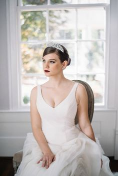 Bridal Tiara Crystal Tiara - EVELYN Tiara, Swarovski Bridal Tiara, Crystal Wedding Crown, Rhinestone Tiara, Wedding Tiara, Diamante Crown by EdenLuxeBridal on Etsy