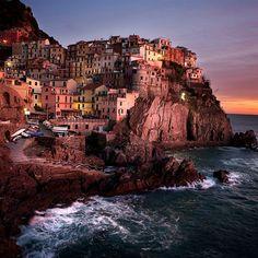 Manarola, Cinque Terre @ Italy