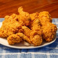 I've been looking for a good fried chicken recipe and I think I found it.