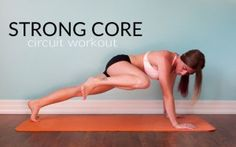 Strong Core Circuit Workout || lushiousLIFTS.com