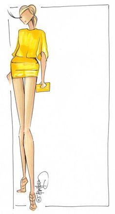 #illustrated #fashion