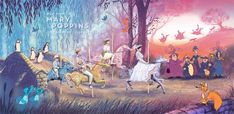 Mary Poppins (1964) [1280 x 623] | Gallsource.com