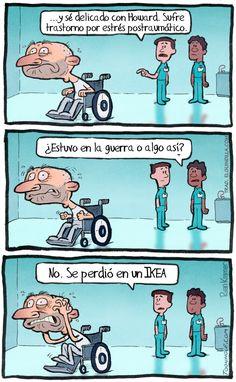Perdido en un IKEA Imágenes graciosas, humor, diversión, chistes #Humor #Fun #Joke #Funny #Jokes #Risas #Hahaha #Jajaja @FiorellaTwit
