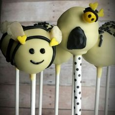 Bee Baby Shower Cake Pops by Pretty Pops, Cypress, Tx
