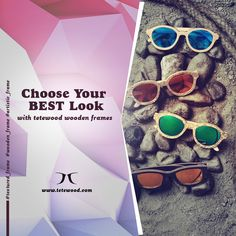 Choose your best look with tetewood wooden frames. https://tetewood.com