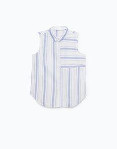 CAMISA RISCAS - Blusas e Camisas - Woman - | Lefties Portugal