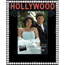Hollywood Glamour Glass Photo Frame