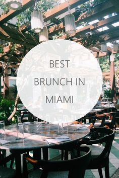Best brunch spots in Miami Florida #miami #florida #brunch