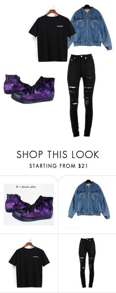"""""""Sin título #449"""" by thewhitebruja on Polyvore featuring moda y Yves Saint Laurent"""