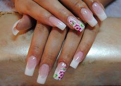 Chinese nail art - tripped flower :: one1lady.com :: #nail #nails #nailart #manicure