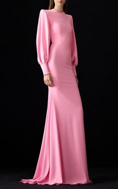 Get inspired and discover Alex Perry trunkshow! Shop the latest Alex Perry collection at Moda Operandi. Elegant Dresses, Pretty Dresses, Look Fashion, Runway Fashion, Fashion Trends, Vestidos Color Rosa, Fancy Gowns, Alex Perry, Long Sleeve Midi Dress