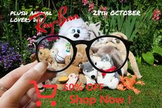 Plush Animal Lovers Day // October 28 // RB7132